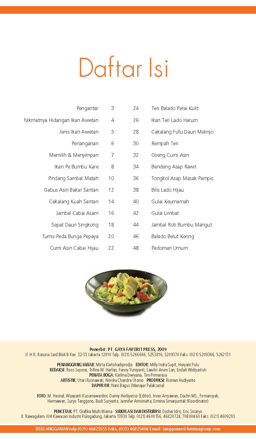 Primatoko Primarasa Dapur Nusantara Hidangan Ikan Awetan